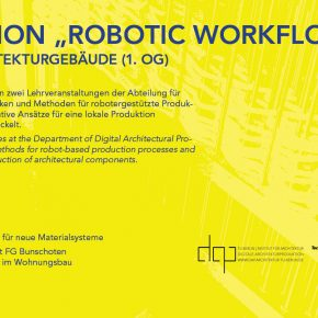 "PRÄSENTATION ""ROBOTIC WORKFLOWS"""